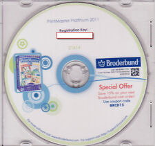 Printmaster 2011 Platinum PC & MAC - NEW