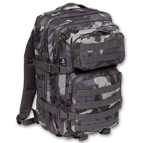 Brandit 8008 40l US Cooper Assault Armee Rucksack MOLLE Army Rucksack Dark Camo