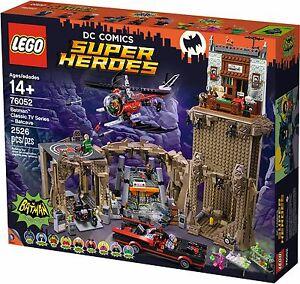 Lego-DC-Comics-Super-Heroes-76052-Batman-Classic-TV-Series-Batcave-Brand-New