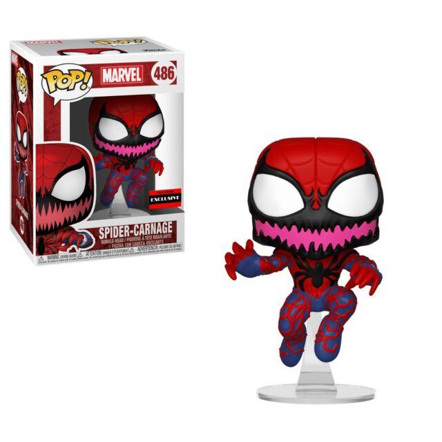 Carnage Venom Funko Pop Vinyl Figure Official Marvel Spider-Man Bobble-Head