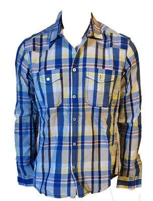 Presunzione taglio di capelli Ordine alfabetico  Camicia Casual Sportiva Quadretti Manica Lunga Uomo 100%Cotone Jack & Jones  M | eBay