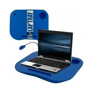 Bed Laptop Table Tray Blue Ebay