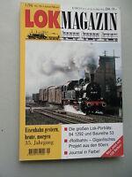 LOK Magazin Eisenbahn gestern heute morgen 1/96 Nr. 196 Jan. /Febr.