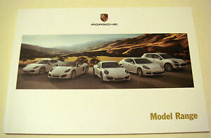 Porsche  Model Range   June 2013 Sales Brochure - <span itemprop=availableAtOrFrom>Buckinghamshire, United Kingdom</span> - Returns accepted Most purchases from business sellers are protected by the Consumer Contract Regulations 2013 which give you the right to cancel the purchase within 14 days after  - Buckinghamshire, United Kingdom