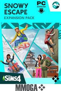 Los Sims 4 Escapada en la Nieve - DLC PC EA Origin descargar codigo - ES/Mundial