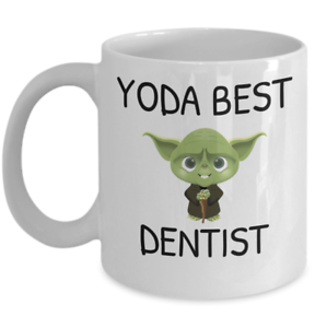 Yoda Gift Medicine Best Dentist Practice Workplace Coffee Details Dental About Mug Funny Oral L54ARj
