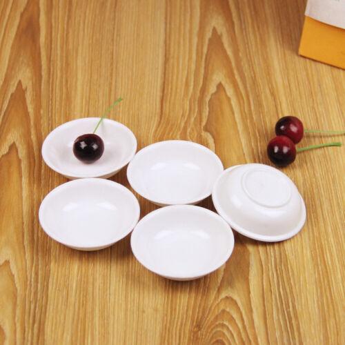 10Pcs Sauce Dishes Seasoning Dish Saucer Appetizer Plates Food Dipping Bowls