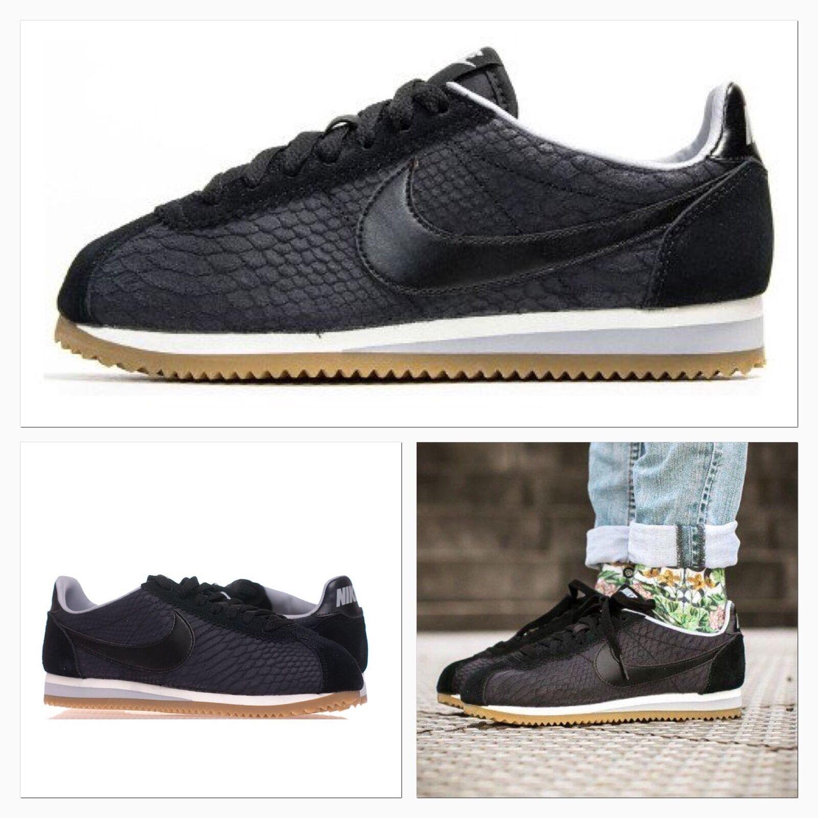 Herren Nike Air Vortex Trainers Fabric & suede Schwarz