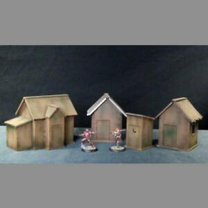 TTCombat-Shacks-amp-Outhouse-Wild-West-Scenics-28-30mm-scale
