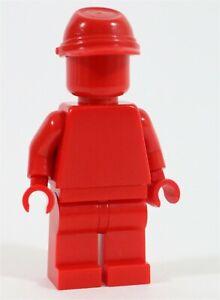 Seltene-Lego-rot-Minifigur-Vorkommnisse-UNRELEASED-einfarbig-Minifigur-HTF