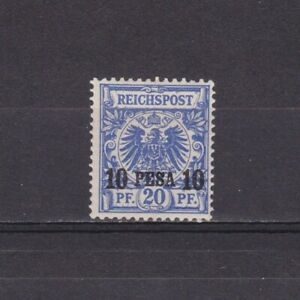 GERMANY-COLONY-EAST-AFRICA-1893-Mi-4-CV-40-MH