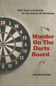 Murder-on-the-Darts-Board-Paperback-by-Irwin-Justin-Brand-New-Free-shippi