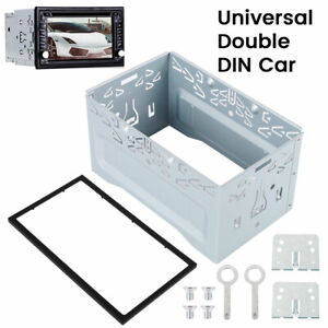 Universal Spindle Casing Double 2Din Fitting Kit Radio Headunit For Xtrons Eonon