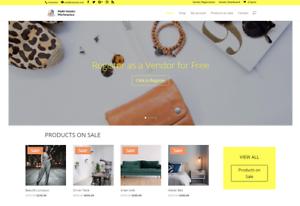 Multi-Vendor-eCommerce-and-Affiliate-website-Free-Set-up-Hosting