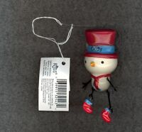 Snowman Christmas Tree Ornament by Russ-Decoration-Stocking Stuffer-CODY