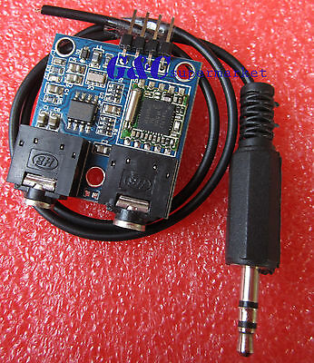 76-108MHZ 5V TEA5767 FM Stereo Radio Module+ B Type Cable Antenna