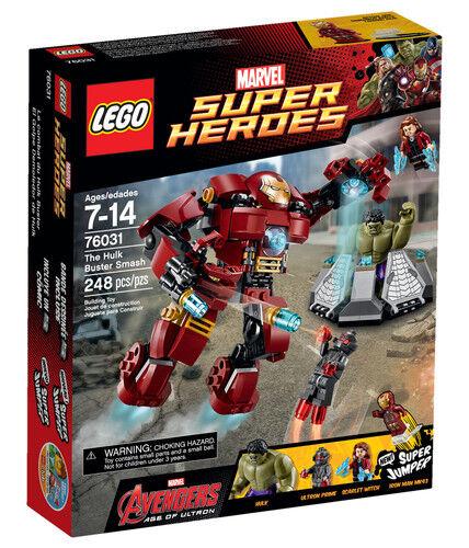 Lego 76031 Marvel Super Heroes Hulk Buster Smash neuf en boîte scellée