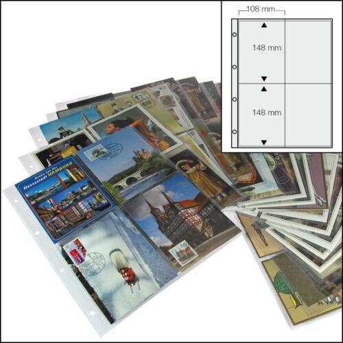 50 SAFE 5471  FOTOHÜLLEN ANSICHTSKARTENHÜLLEN POSTKARTENHÜLLEN  10  x 15 CM  A4
