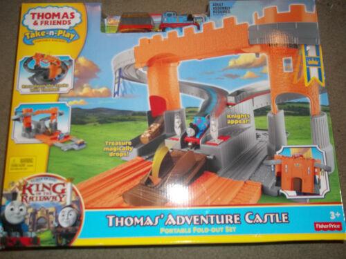 Thomas /& Friends Take-n-play Thomas/' Adventure Castle Fold out King of Rail  New