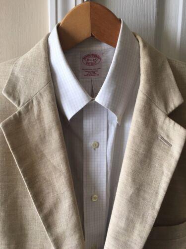 di lana in blazer 2 lunghi beige giacca chiaro da bottoni Bank Jos marrone A uomo 43 lino sportivi OwxSIq
