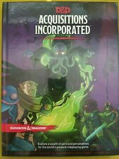Acquisitions Incorporated D&D DnD 5th Fifth 5e 5.0 NEW Dungeons Dragons Penny HC