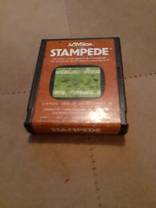 STAMPEDE by Activision for Atari 2600 ▪︎CARTRIDGE ▪︎FREE SHIPPING ▪︎