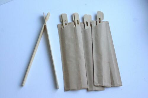 WRAPPED bamboo CHEATS rookie CHOPSTICKS 18cm Chinese disposable wood 6  12 pair