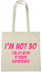 Im Not 30 Bag 30th Birthday Gifts Presents For 30 Year Old Women