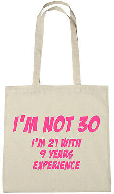 Details About Im Not 30 Bag 30th Birthday Gifts Presents For Year Old Women Wife Sister