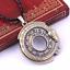 Unisex-Snake-Rune-Pendant-Necklace-Viking-Norse-Ouroboros-Gift-UK-Stock miniatuur 3