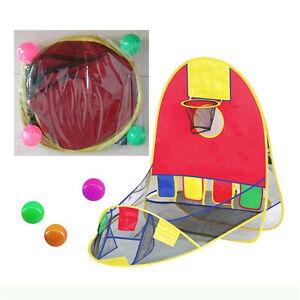 Portable-Ball-Scoring-Tent-Children-Kids-Baby-Basketball-Pit-Playhouse-Game-vbu