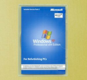 Windows XP Professional x64 Edition Full Version Disk & Product Key Pro 64 bit