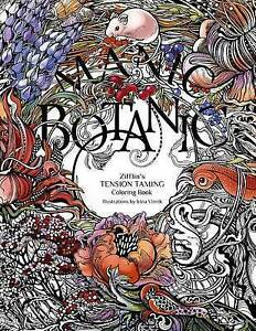 Image Is Loading Manic Botanic Zifflin 039 S Coloring Book By