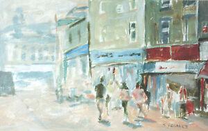 New-Street-Barnsley-POSTCARD-Yorkshire-Steve-Greaves-Painting-Art-Card-Landscape