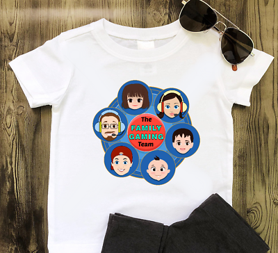 Roblox T Shirt Fgteev Faces Kids T Shirt 3 15 Years Tee Youth