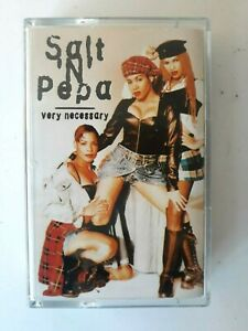 Salt-039-N-039-Pepa-Very-Necessary-Cassette-Made-in-Netherlands-1993-Brand-New
