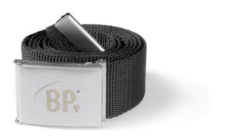 Länge 135cm BP Workwear 1499 Gürtel schwarz Hosengürtel mit Metallschnalle max