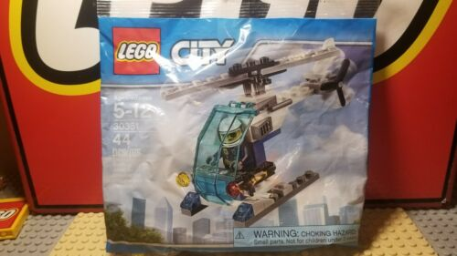 New Fast S//H Sealed LEGO City 30351 Police Helicopter Polybag
