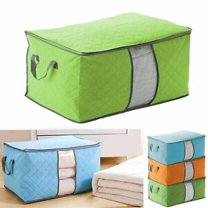 clothes blanket pillow quilt sweater organizer foldable