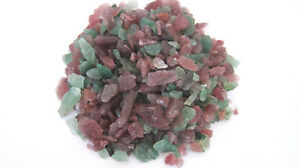 2oz-Christmas-Tanzurine-Chips-Green-Red-10-30mm-Healing-Crystal-Energy-Love