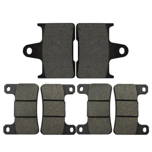 Front Rear Brake Pads Kit for Suzuki GSXR600 04~05 GSXR750 04~05 GSXR1000 04~06