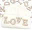 miniature 8 - Pearl Letter Patches Rhinestone Sparkle Alphabet Embroidery Sew on Iron on A-Z