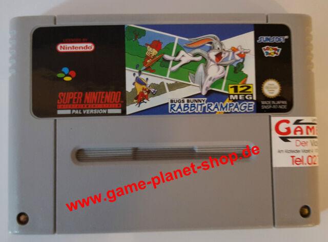 Bugs bunny rabbit rampage Super Nintendo SNES 121901622524