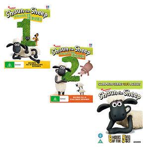 Shaun-the-Sheep-Season-Series-1-2-3-amp-4-DVD-New-Sealed