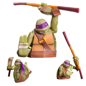Donatello Official Teenage Mutant Ninja Turtles Bust Bank Money Box