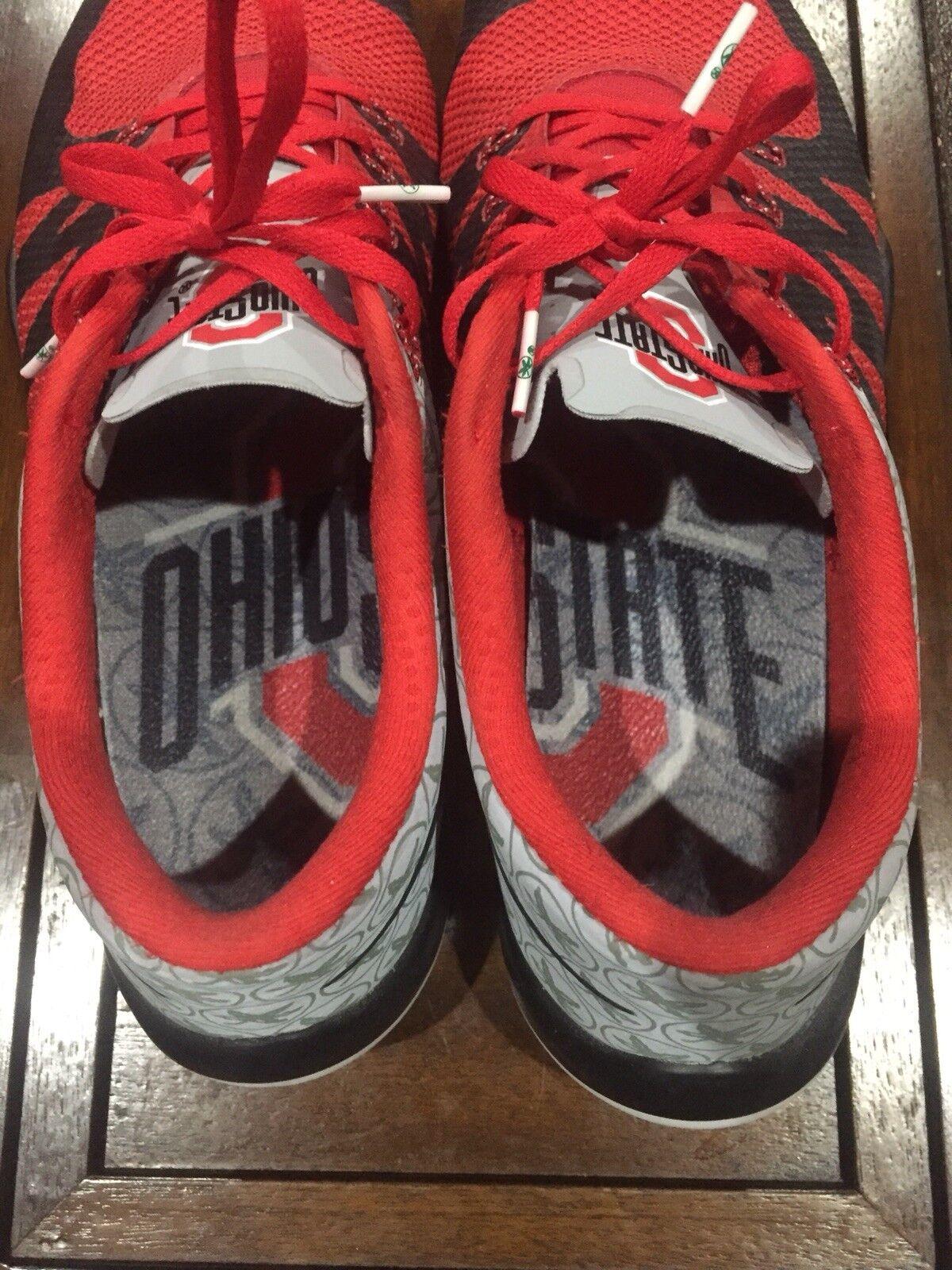 Nike Air Free Trainer 5.0 V6 Amp Ohio State OSU Buckeyes Week Zero Comfortable