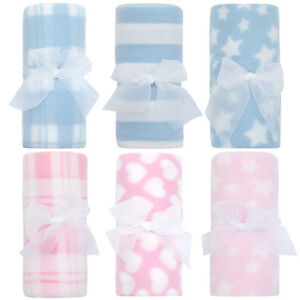 Babies-Soft-Fleece-Cot-Pram-blanket-75-x-75cm