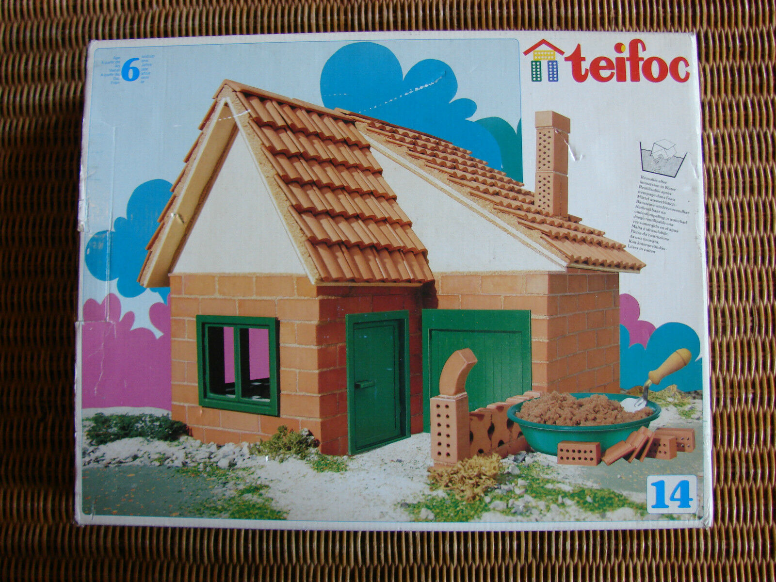 Vintage Tefioc House Building Construction Set