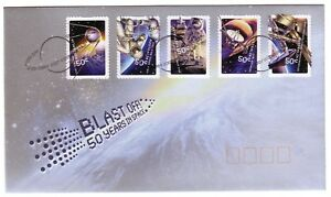 2007-FDC-Australia-Blast-Off-50-years-in-space-P-amp-S-PictFDI-034-WOOMERA-034