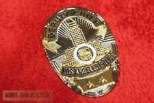 Historisches Deputy Chief Los Angeles Police Badge LAPD